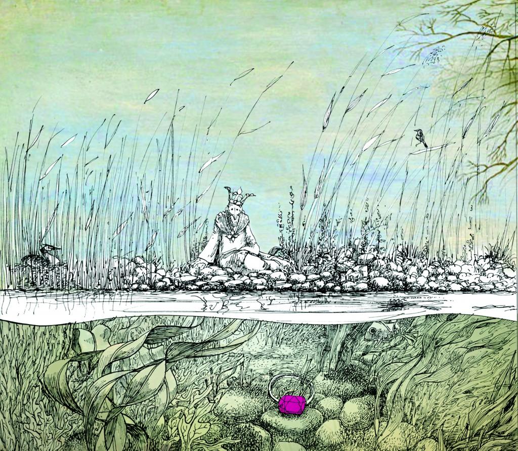 coverillustratie van 'Keizer Karel verliefd'